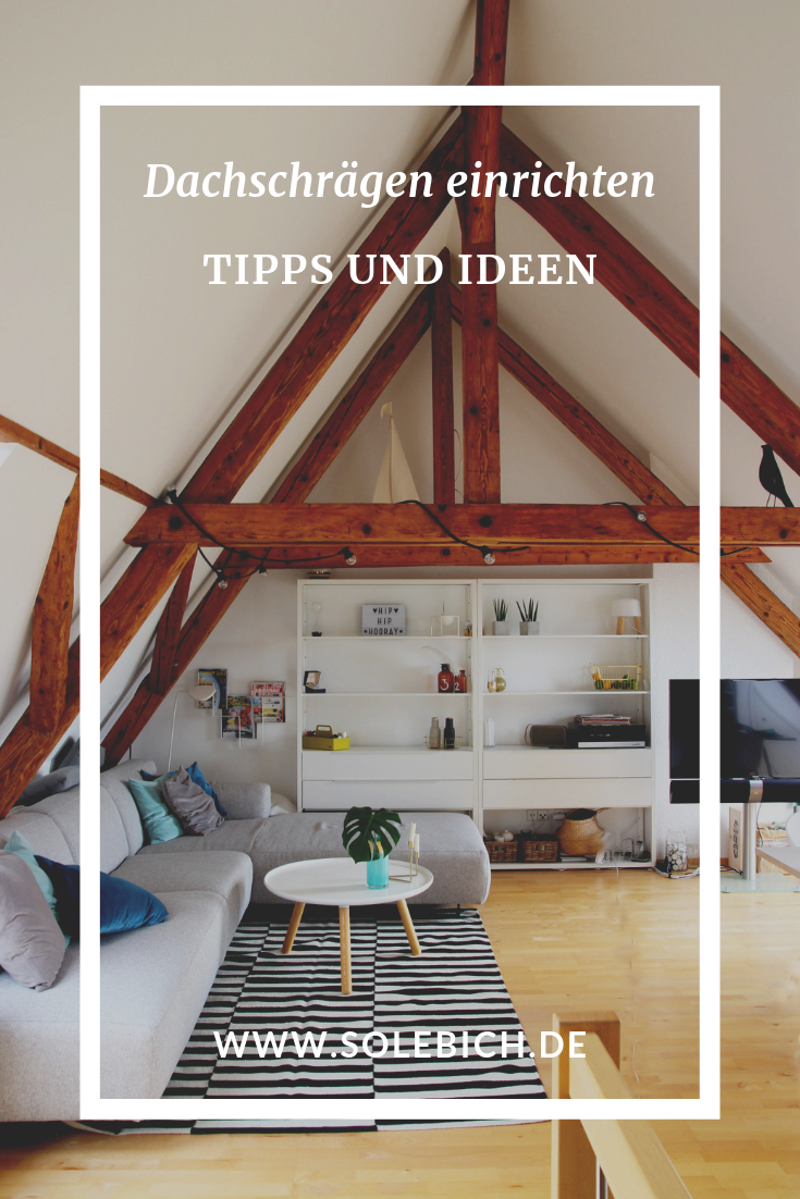 Dachschrägen einrichten – Tipps und Ideen   Dachschräge ...