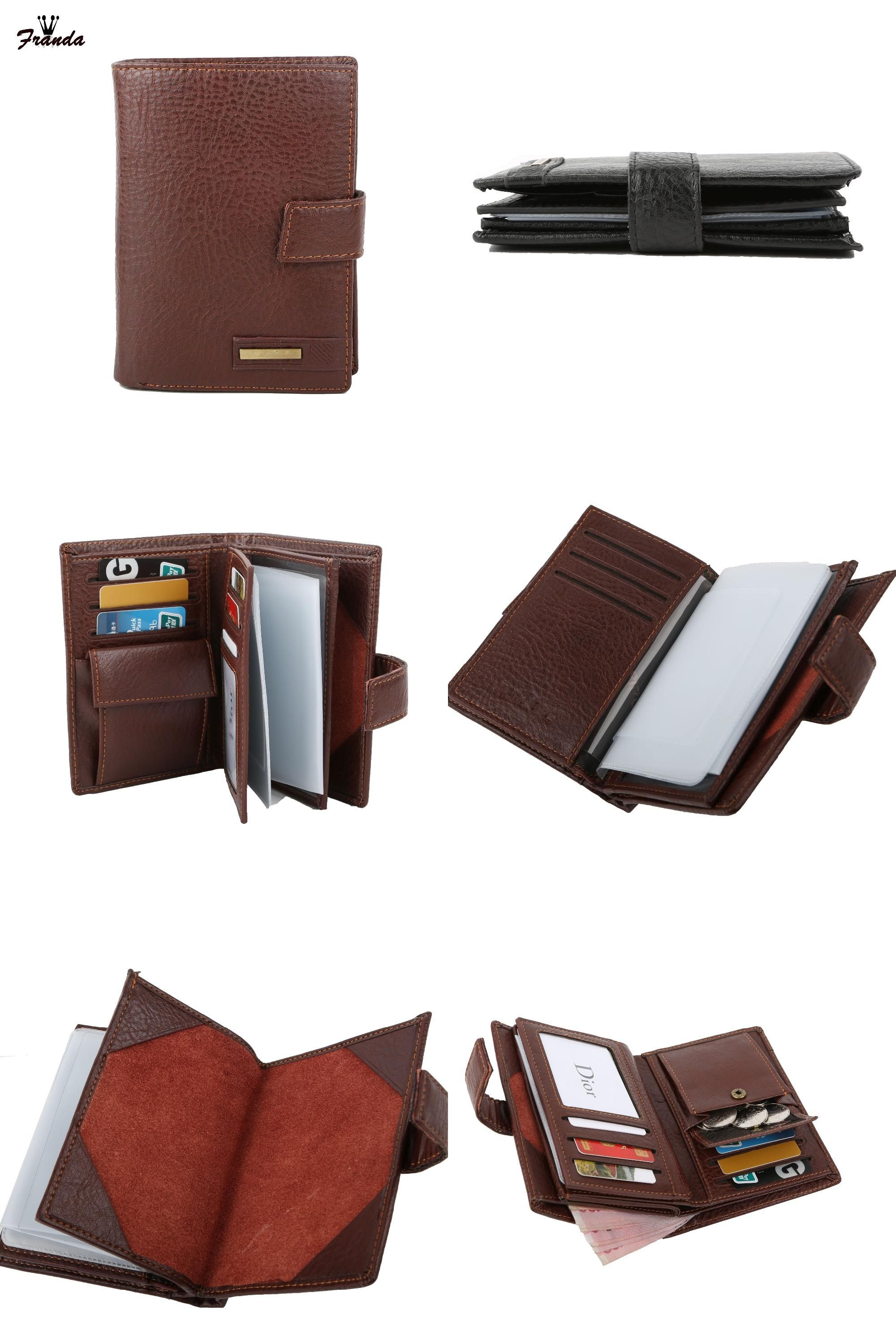 b8bb0ef30e71 [Visit to Buy] Leather Passport Cover Driver's License Cover Document Men  Travel Wallet Credit Card Holder Cover on the Passport Case organizer # ...