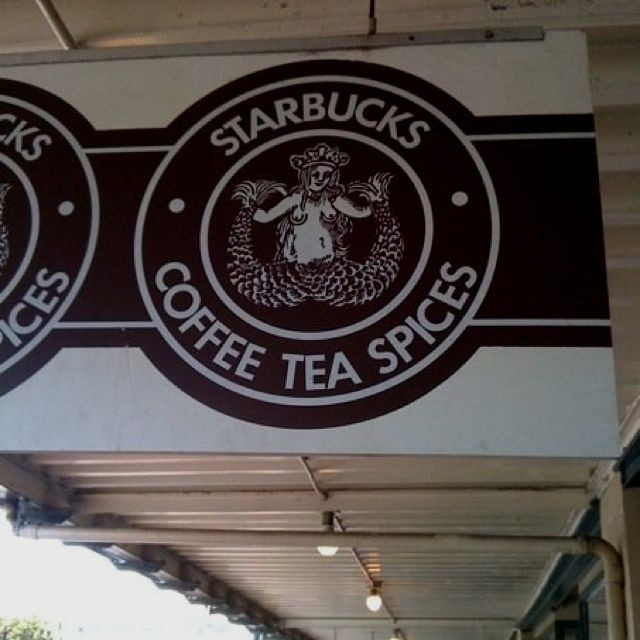 Original Starbucks, Pike Place Market. Seattle2009