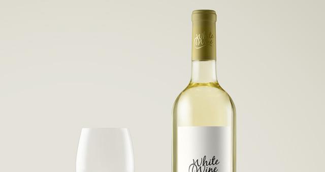 Psd White Wine Bottle Mockup Vol2 Psd Mock Up Templates Pixeden Wine Bottle Bottle Mockup White Wine