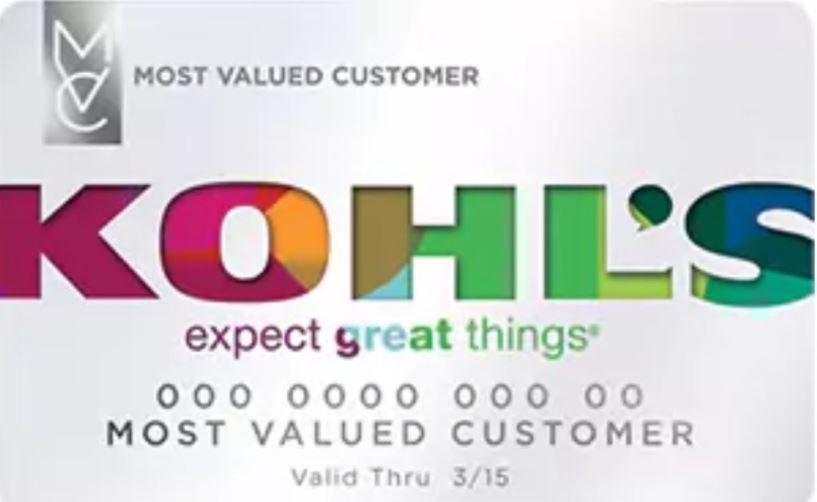 Kohl S Credit Card Application Status Billpay Login Online