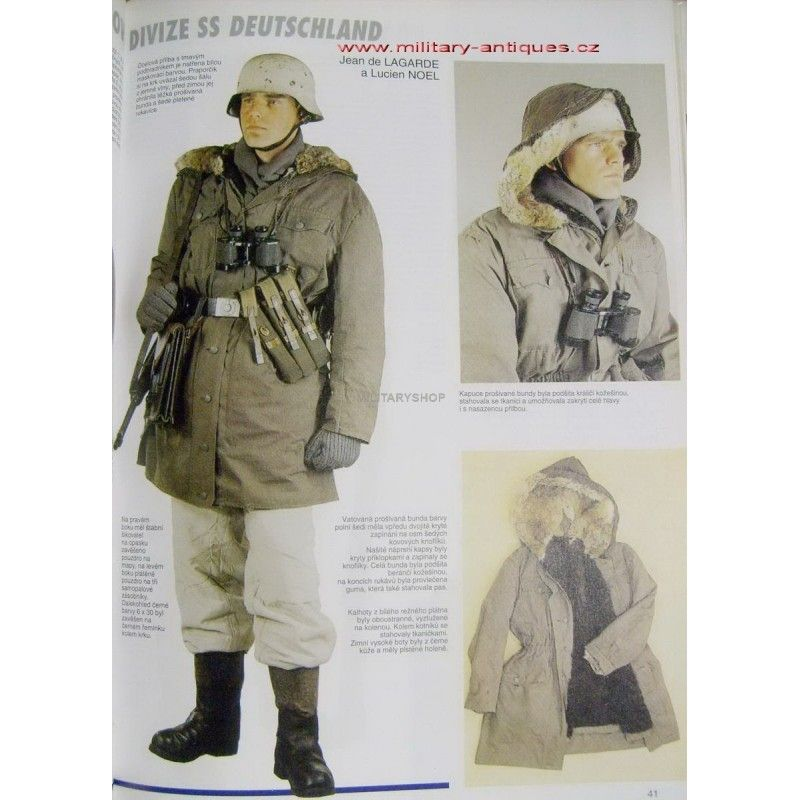 Winter parka | WW II Uniformes alemanes | Pinterest | Parka ...