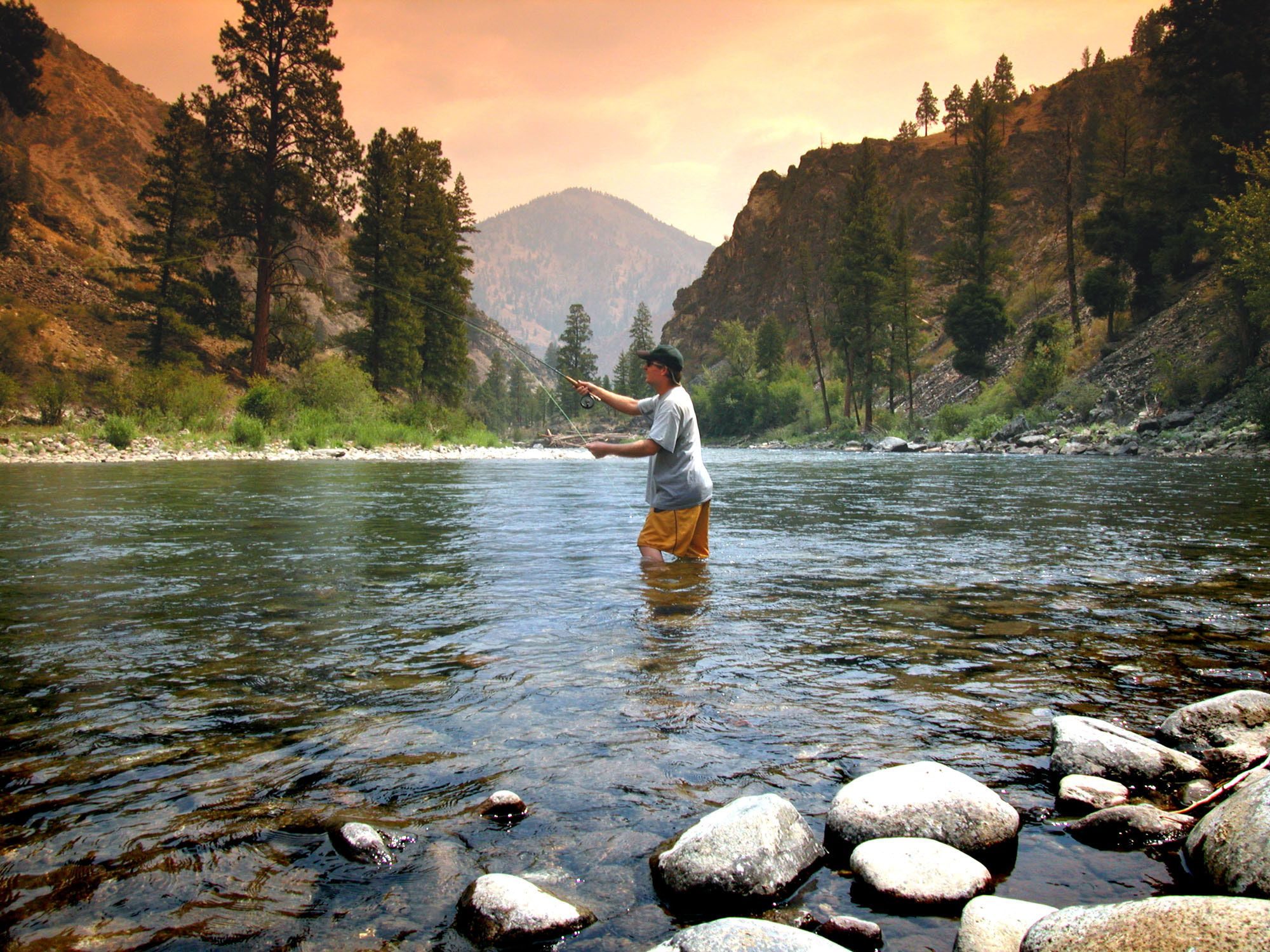 9. Summery place/travel, Salmon River, Idaho great fishing, rafting, camping...one of my favorite places!