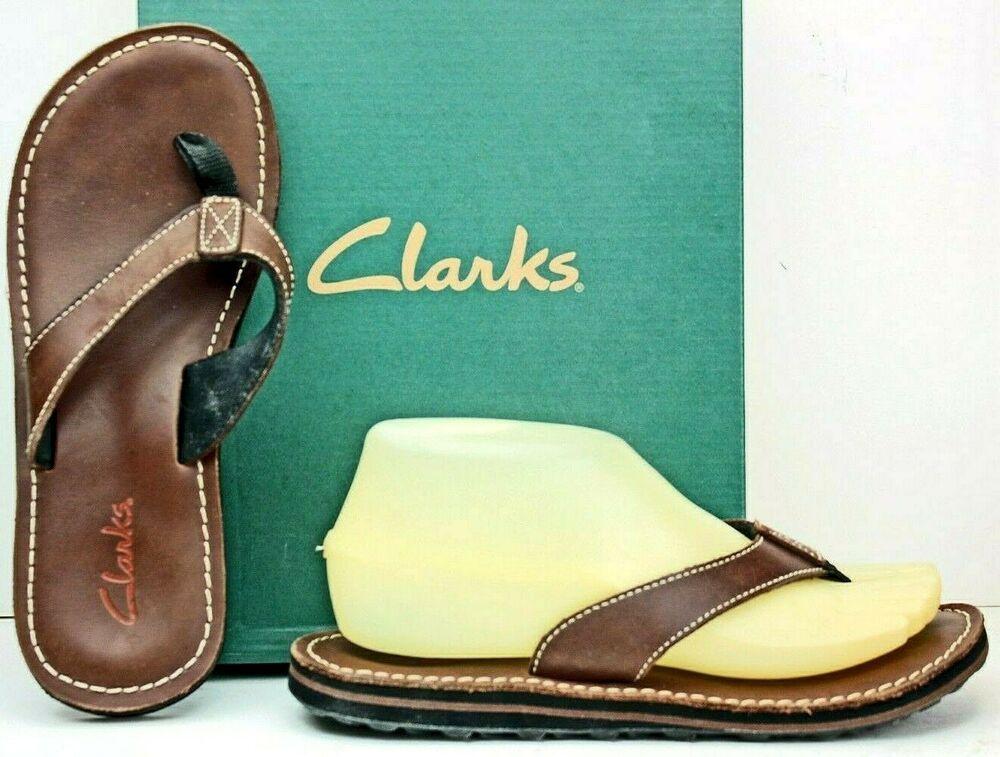 CLARKS Womens Sandal size 7 M Brown