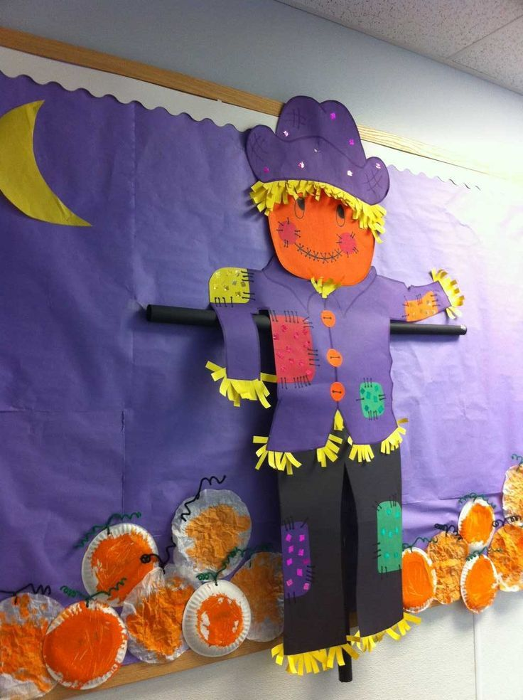 pumpkin bulletin board idea (1) Crafts and Worksheets for