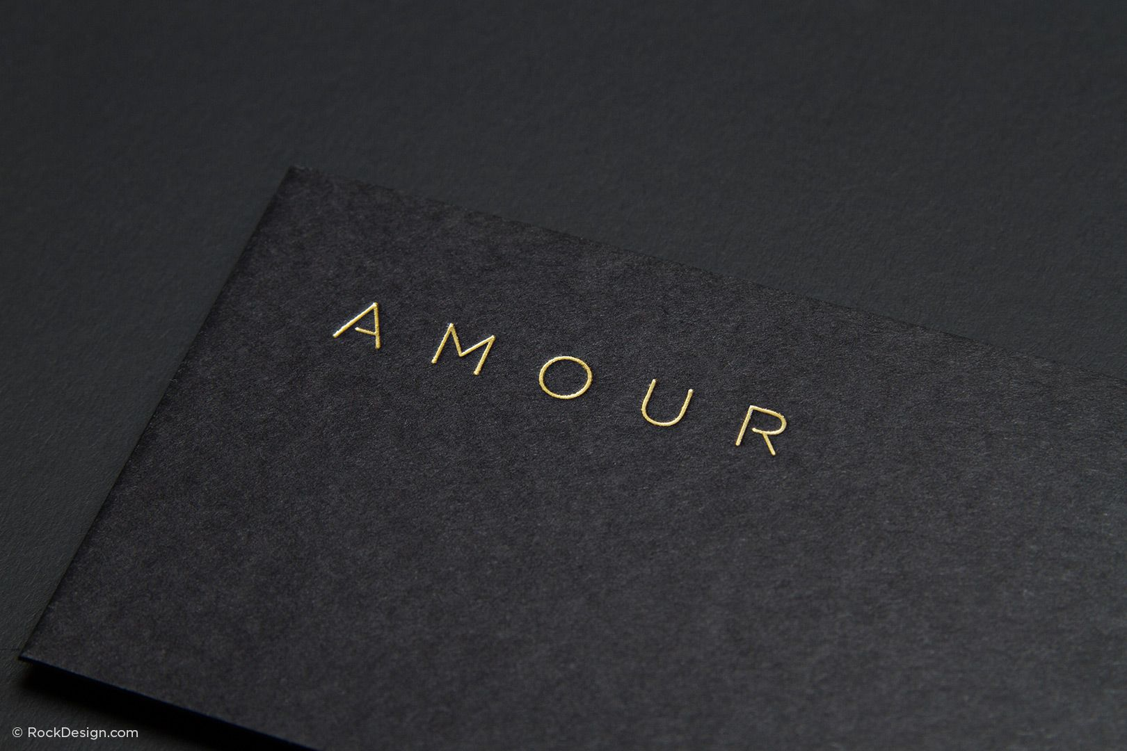 Fancy unique black business card design template amour print business cards online with our free templates using gold foil silver foil more our template is the perfect luxury card reheart