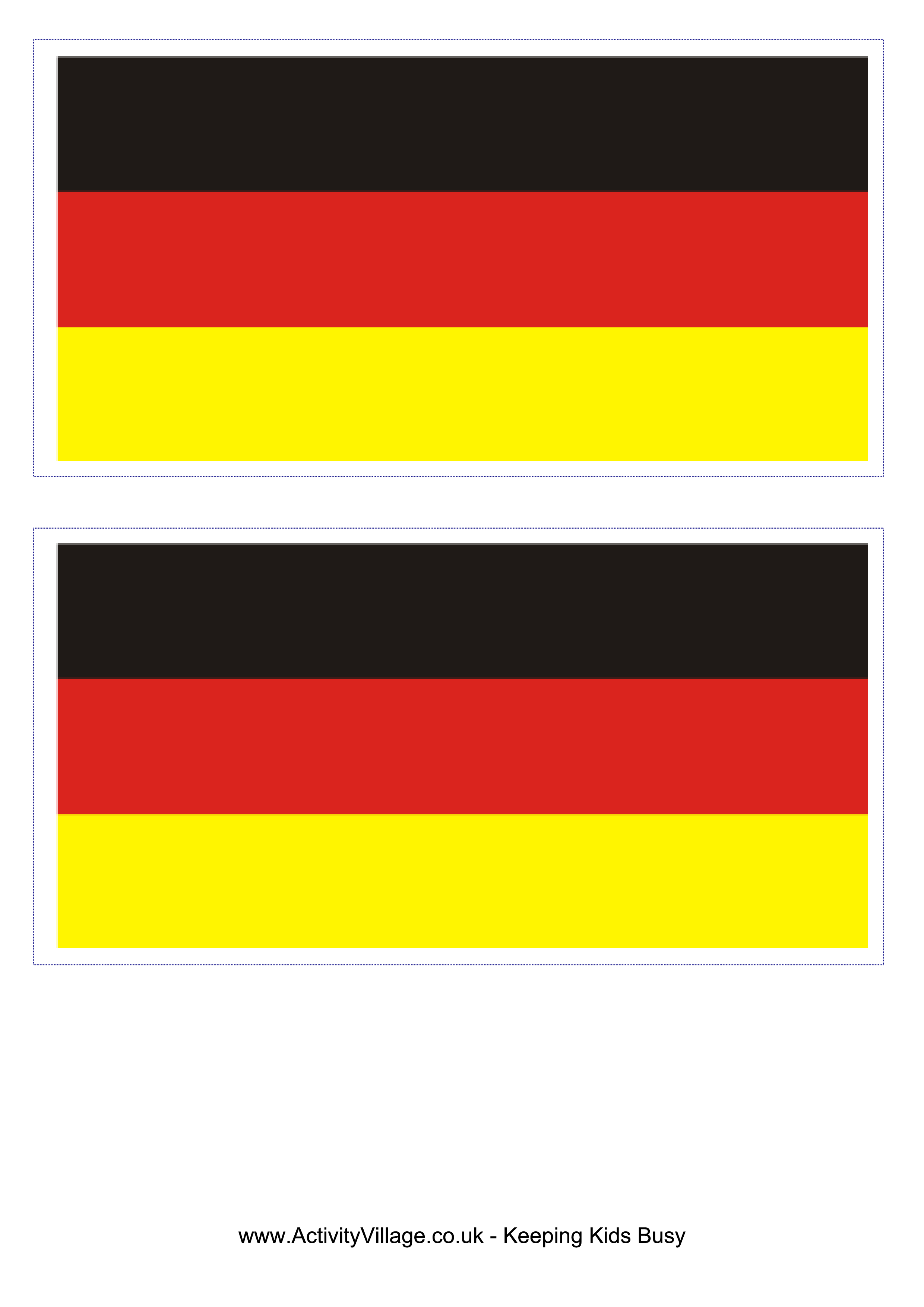 Germany Flag Free Printable Germany Flag Germany Flag Flag Template Flag Printable