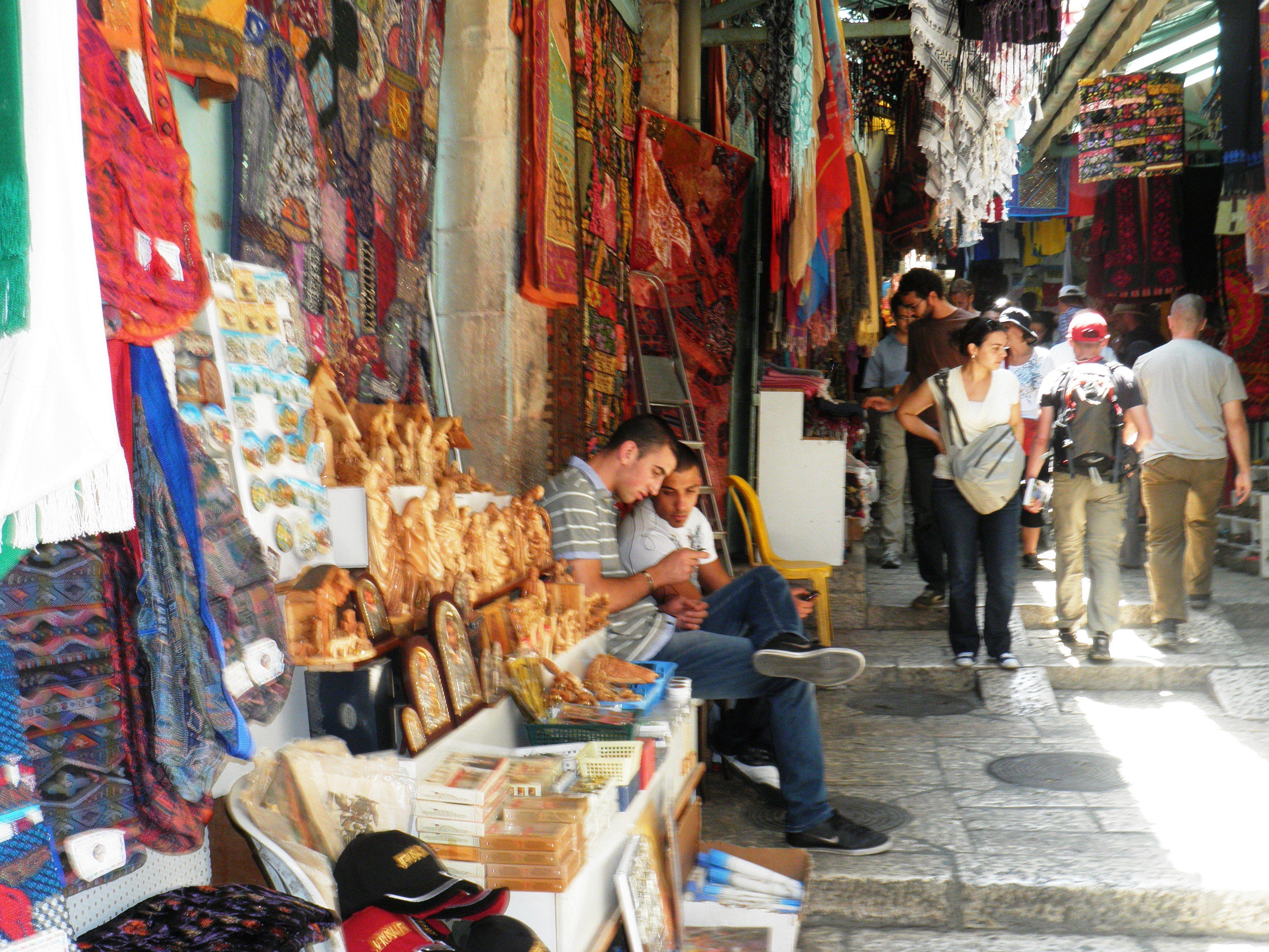 Jerusalem Old City Market Old City Places To Go