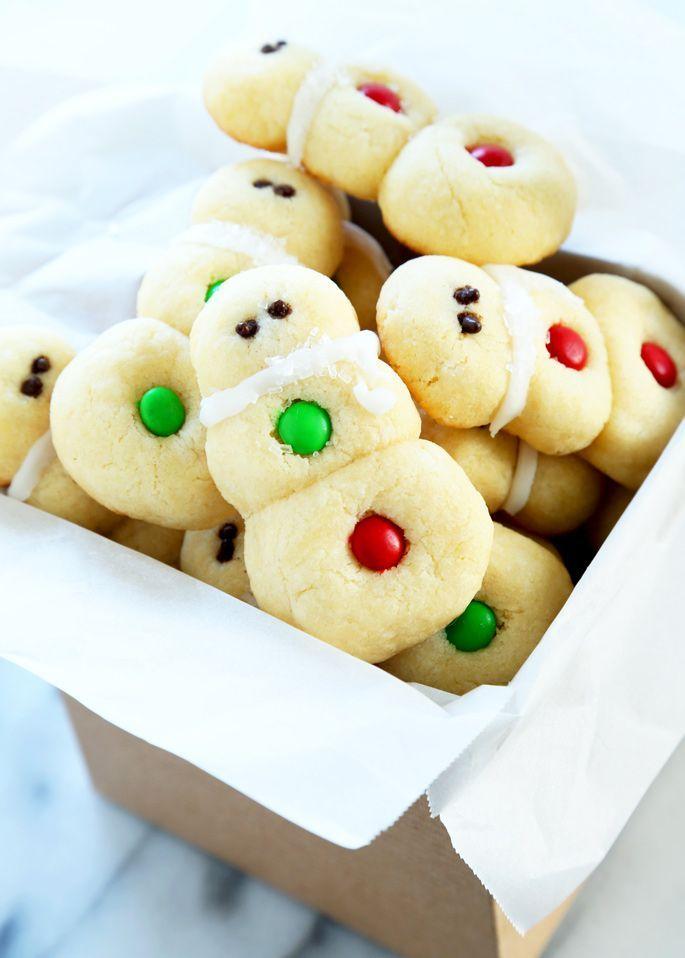 Easy Gluten Free Snowman Sugar Cookies Gluten Free Sugar Cookies