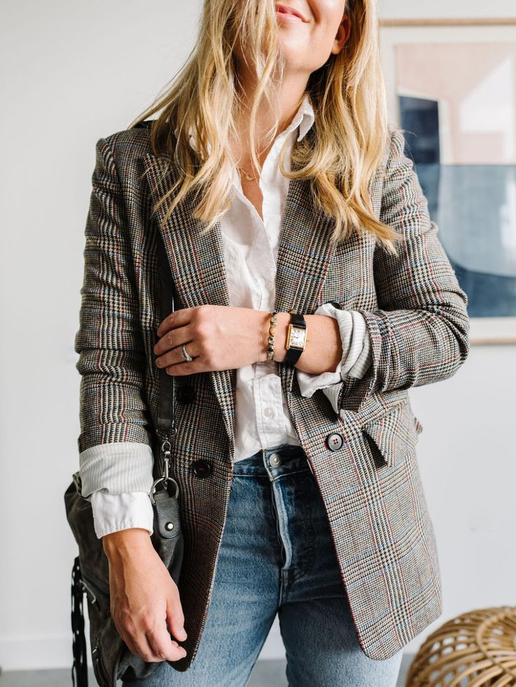 How to Wear a White Shirt: One Piece, Three Ways > The Effortless Chic – Fall Style
