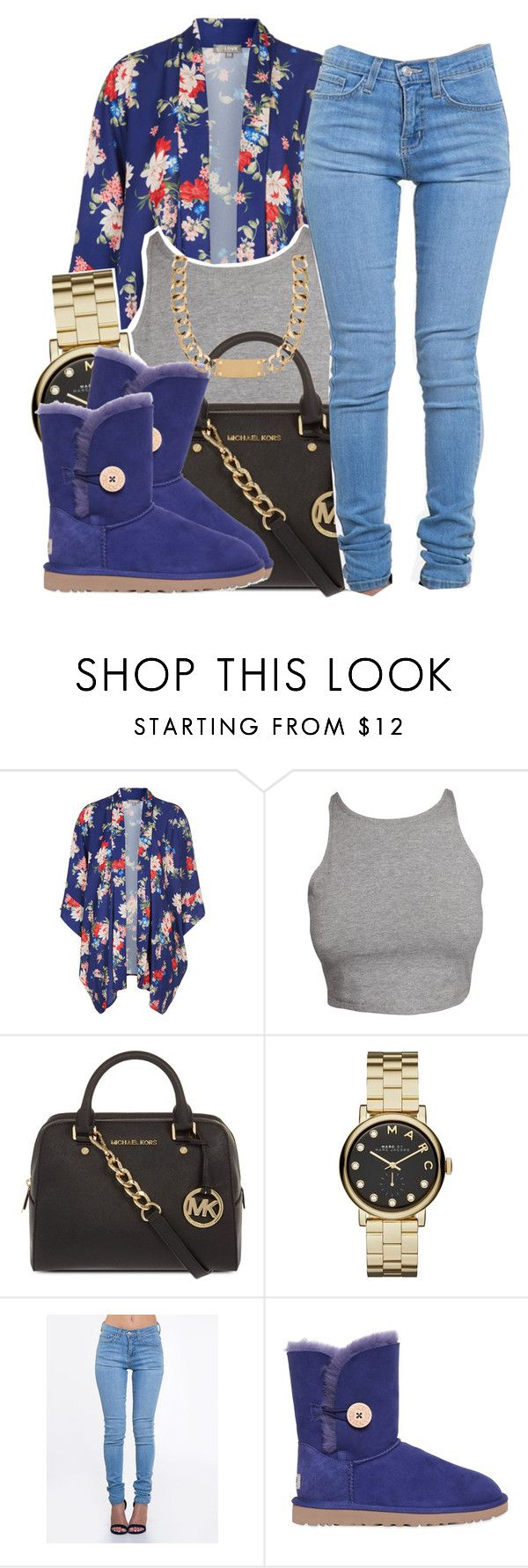 """11/07/15"" by clickk-mee ❤ liked on Polyvore featuring Love, MICHAEL Michael Kors, Marc by Marc Jacobs, ZooShoo, UGG Australia and House of Harlow 1960"