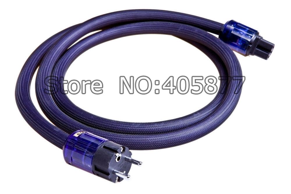 (55.00$)  Watch here  - Hi End Furukawa PCOCC Audio Mains Power Cable Cord EU Schuko Power Plug Cable