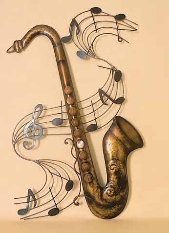 Music Metal Wall Art saxophone music score metal wall art | band | pinterest