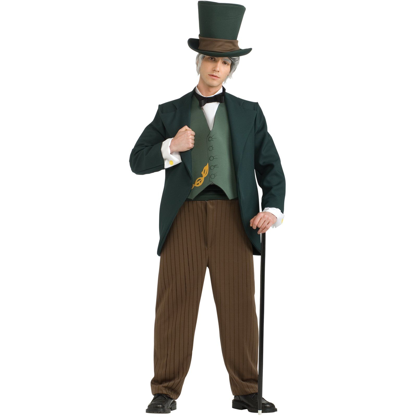 photobooth green top hat and bow for wizard costume | Wicked ...