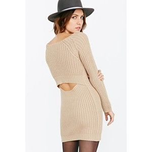 Peekaboo Sweater Dress