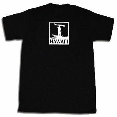 Hawaii Surfer T-shirt Funny Hawaii Surfing Hawaiian Shirt Tee Shirt S-5X