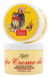 Kiehl's Since 1851 'Norman Rockwell' Crème de Corps Soy Milk & Honey Whipped Body Butter (Limited Edition)
