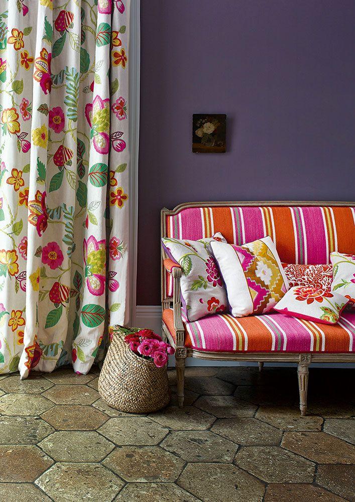 Fabric Love Manuel Canovas New Collection Decor Soft Furnishings Interior
