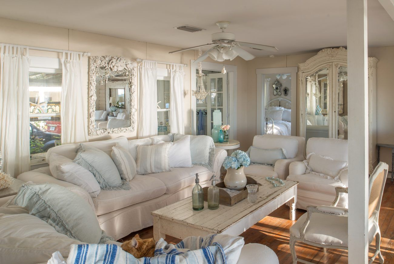 The Secret to Romantic Beach Cottage Style | Country Style ...