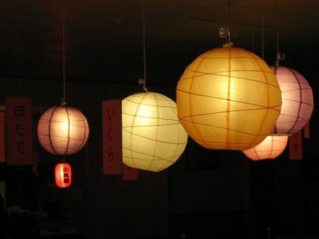 How to light your dorm room with christmas lights and paper lanterns