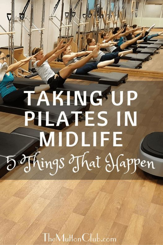 One woman explains how Pilates has transformed her life in her 40s and talks about the changes it ha...