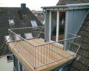 Balkonaustrittsgauben – SPS Gauben   – Architektur haus