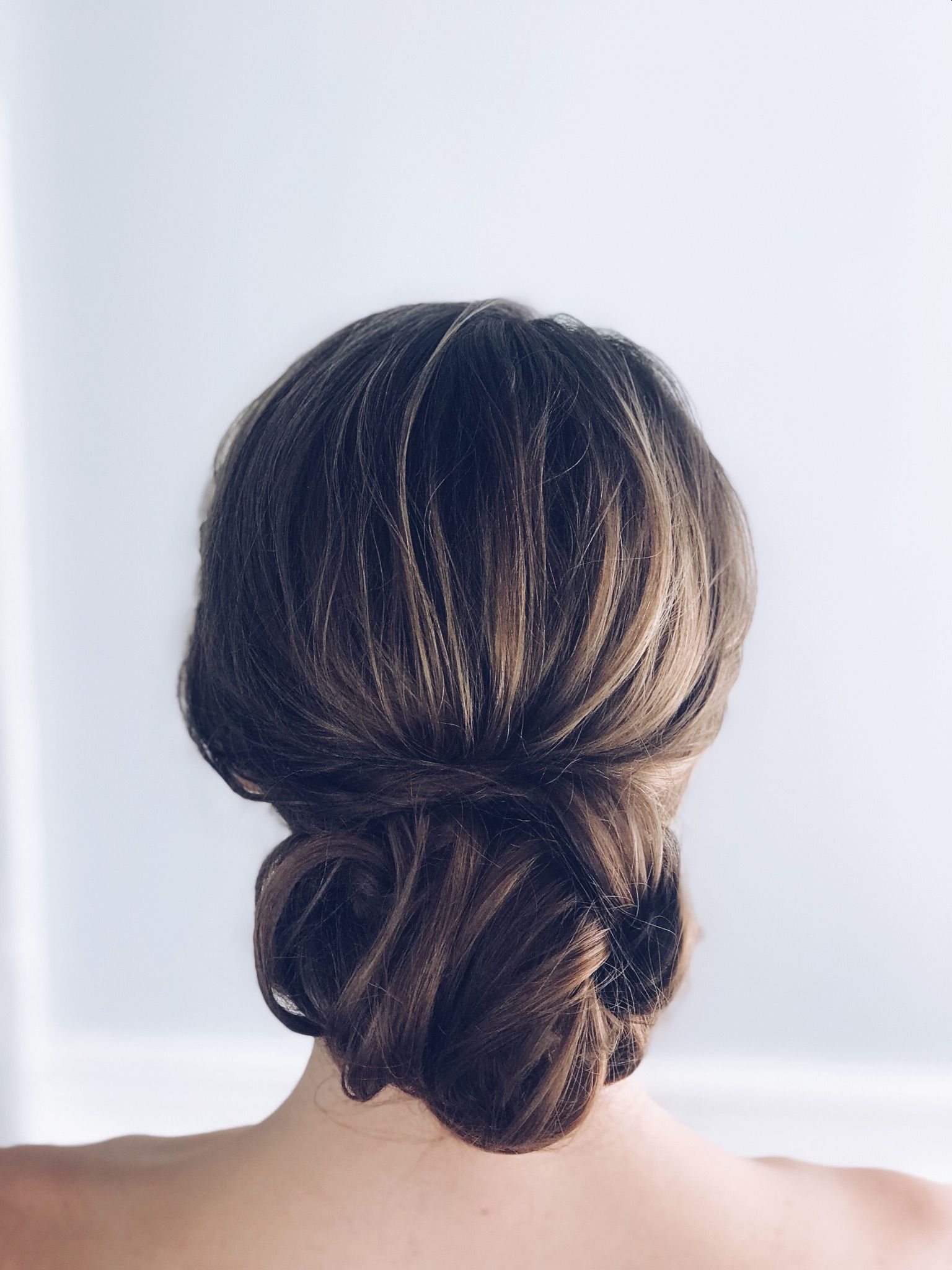 classic, chignon, low bun, wedding hair | wedding hairstyles