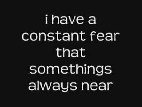 Iron Maiden - fear of the dark lyrics | Family First | Pinterest ...