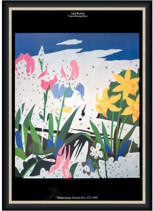 Art source do it yourself flowers by andy warhol offset art source do it yourself flowers by andy warhol offset lithograph solutioingenieria Image collections