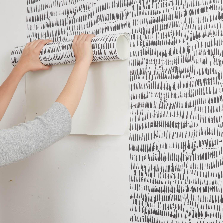 Modern Brushstroke Removable Wallpaper In 2020 Removable Wallpaper Dorm Removable Wallpaper Removable Brick Wallpaper