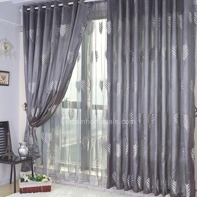 Doble cortina combinada cortinas pinterest cortinas - Barra doble cortina ...