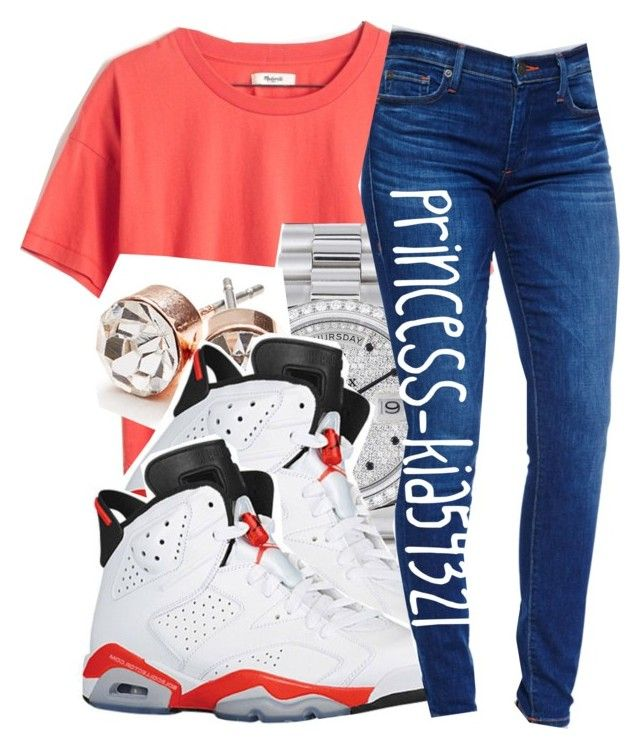 """""""£"""" by princess-kia54321 ❤ liked on Polyvore featuring Madewell, Rolex, GUESS, Retrò and True Religion"""