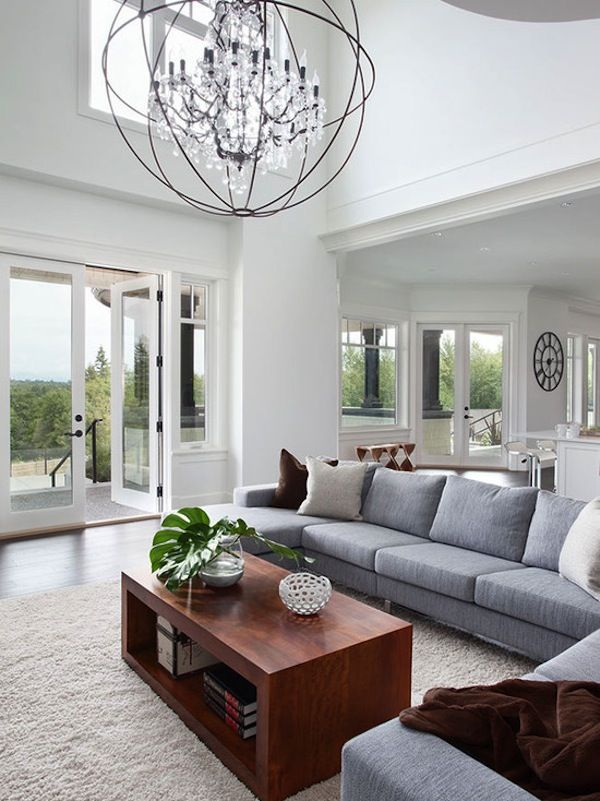 Contemporary Chandeliers That Can Put Any Room Decor Over The Top Living Room Decor Apartment Chandelier In Living Room Chandelier Living Room Modern