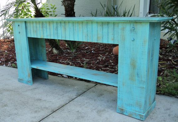 Mudroom Bench, Shoe Storage, Rustic Bench, Country Cottage Decor ...