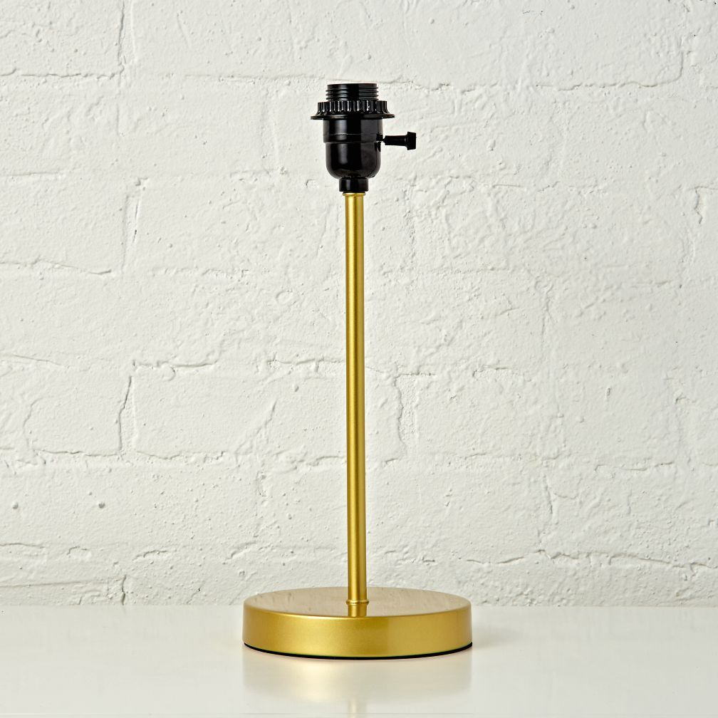 Mix And Match Gold Table Lamp Base With Its Understated Easy To Coordinate Style This Is Exceptionally Versatile Just A Bit