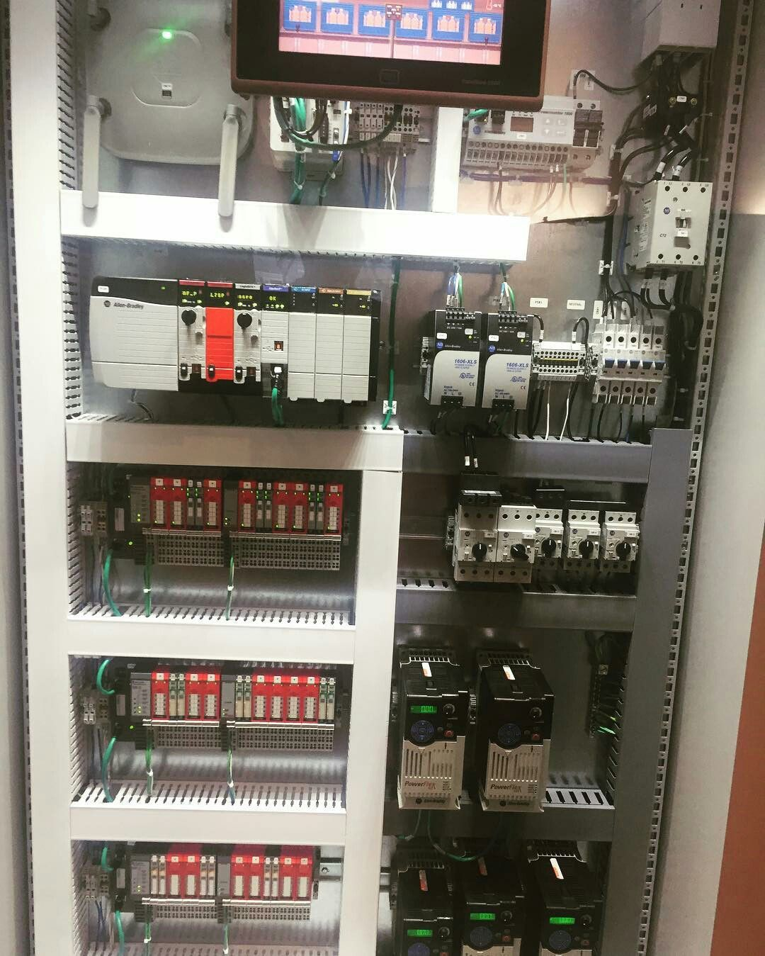 Rockwell Automation Control Logix CLP | Electric Control Panels ...