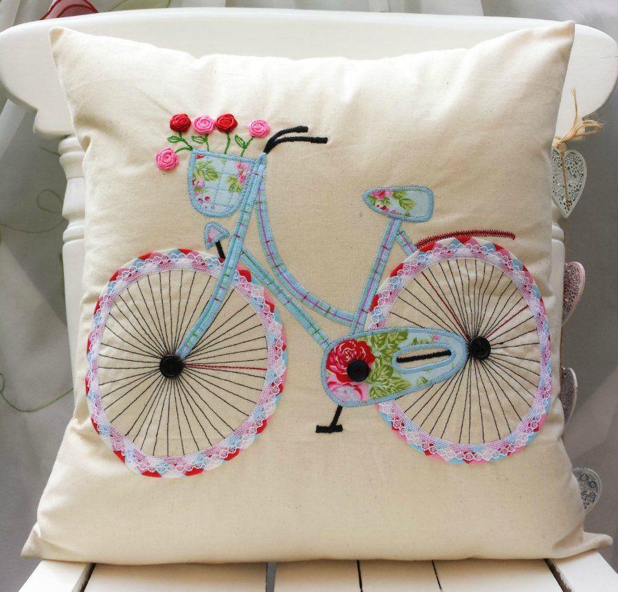 bordado y cojines de ganchillo bellas ideas