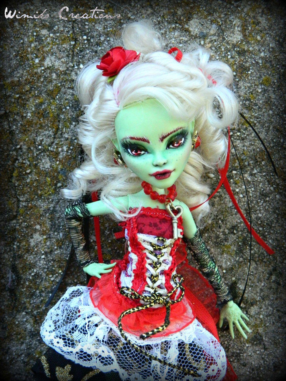 Encantador Monstruo Alto Para Colorear Draculaura Y Frankie Modelo ...