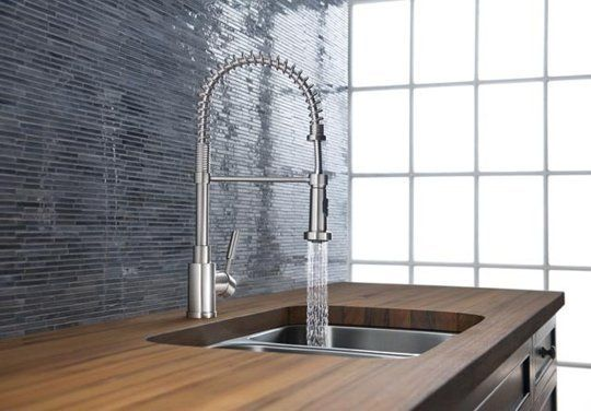 Kitchen Faucet Commercial Style Pictures Gallery – Industrial Kitchen Faucet