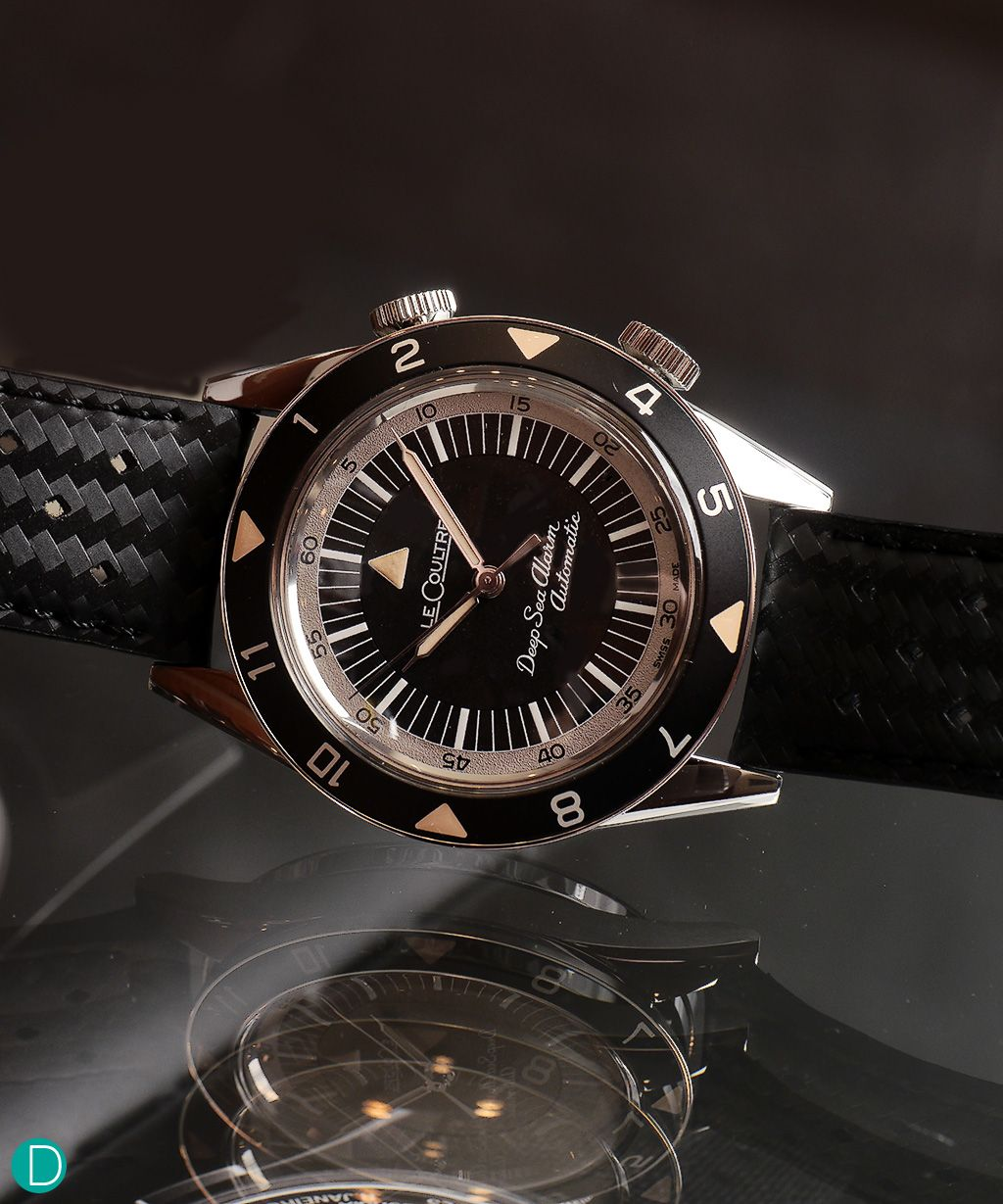 The Jlc Tribute To Deep Sea Alarm Watches Horology Omega Watch