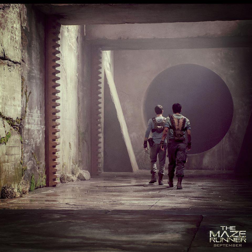 The Maze Runner Minho and Thomas