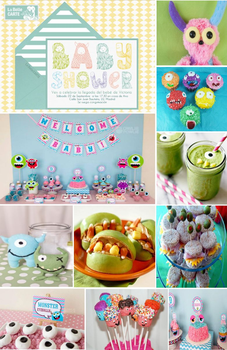 Online Baby Shower Invitations Ideas Monster Party Theme ...