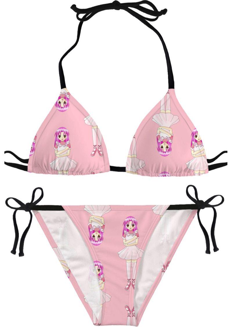Dancing doll bikini swimsuit bathing suit swimwear trunks
