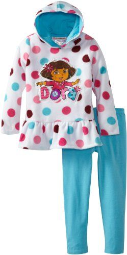Nickelodeon Little Girls' Dora the Explorer 2 Piece Polka Dot Pullover Hood And Pant, Beige, 6 Nickelodeon http://www.amazon.com/dp/B00D5SVLNO/ref=cm_sw_r_pi_dp_WtDMub0JN3TJQ