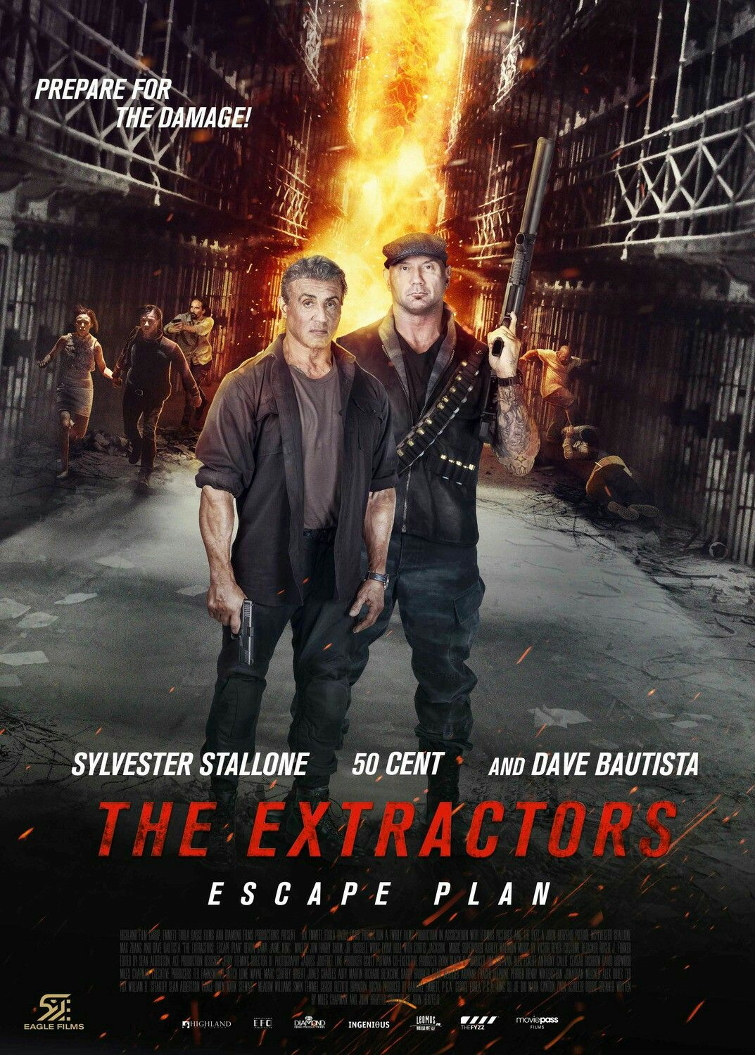 The Poster For The Action Thriller Escape Plan 3 The Extractors