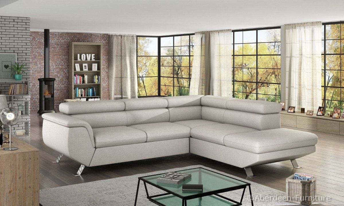 829 Inc Vat The Unique Corner Sofa Bed Phoenix With A Sprung Foam Seating Adjustable Headrest And Relax Comfortable Sofa Bed Corner Sofa Bed Corner Sofa