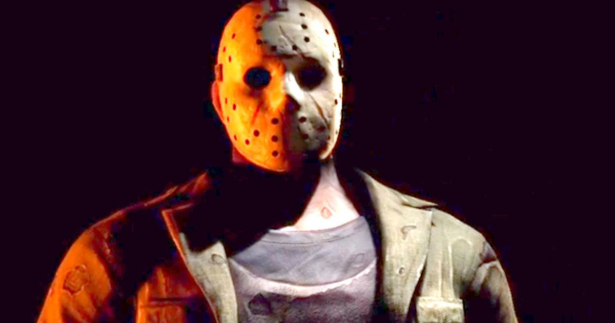 'Friday the 13th': Jason Voorhees Joins 'Mortal Kombat X'! -- Jason Voorhees will be one of four playable characters in the Kombat Pack for Mortal Kombat X, coming this April. -- http://www.movieweb.com/mortal-kombat-x-friday-13th-jason-voorhees