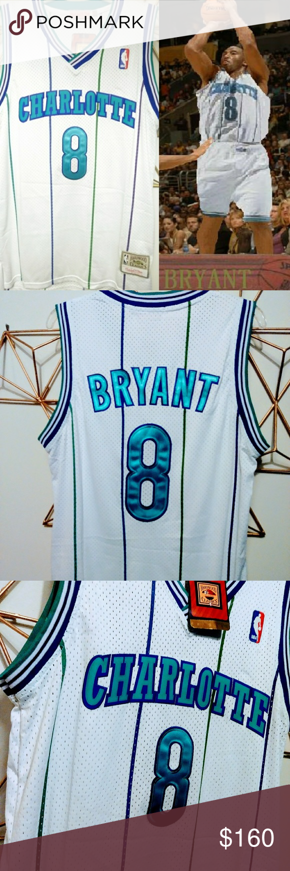 1996 Draft Kobe Bryant Charlotte Hornets Jersey Size  Medium For those that  don t ff0a3abd4
