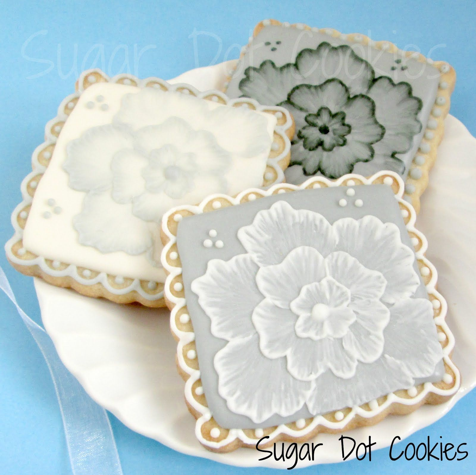 Sugar Dot Cookies: Wedding Sugar Cookies