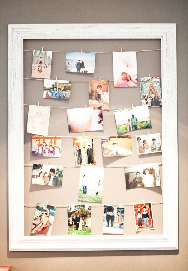 Diy Name Photo Collage Frame | Diydrywalls.org